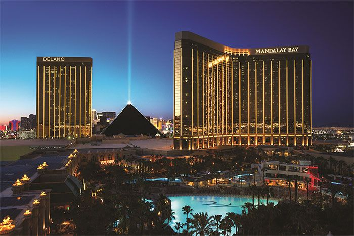 Mandalay Bay Resort Casino main exterior
